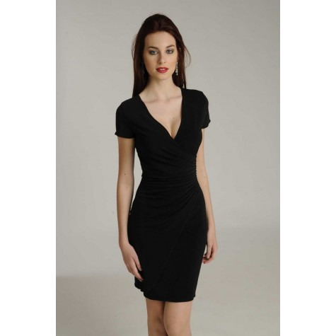 LISA SHORT SLEEVES DRESS