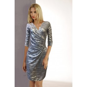 LISA BRIGHT GOLD/ SILVER DRESS