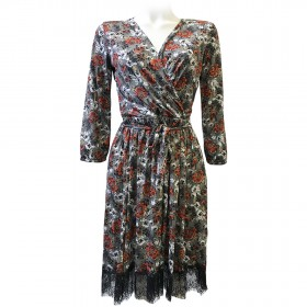 PETRA ACACIA FLOWER DRESS