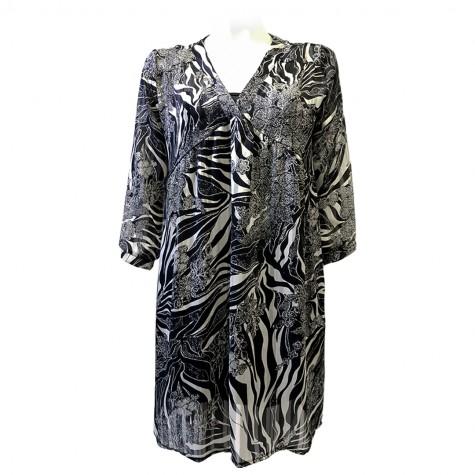 Célia Zebra Dress