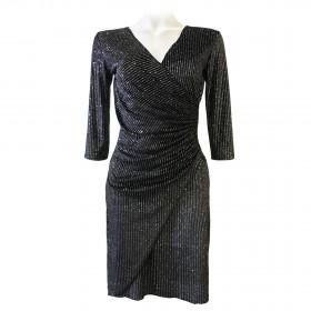 Lisa Velours Dress