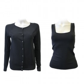 TOP & CARDIGAN VISCOSE